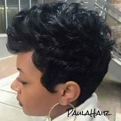 get a picture gallery for Black Teenage Girl Hairstyles 2017 With Short Hair also get tips for choosing the best hairstyles according to your face shortblackhairstyles Love Hair, Great Hair, Gorgeous Hair, Awesome Hair, Haircut Styles For Women, Short Haircut Styles, My Hairstyle, Girl Hairstyles, Black Hairstyles