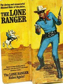 John Kenneth Muir's Reflections on Cult Movies and Classic TV: The Lone Ranger Week: Action Figures from Gabriel Vintage Toys 1960s, Retro Toys, 1970s Toys, Vintage Stuff, Retro Vintage, Childhood Toys, Childhood Memories, Modern Toys, The Lone Ranger