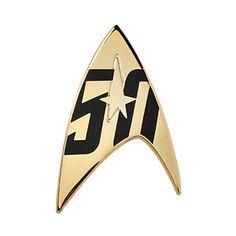 Star Trek 50th Anniversary Pin Set - Starfleet Additional Image