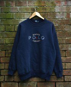 Image of Vintage Polo Ralph Lauren Sweatshirt Size Large