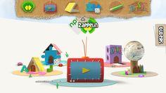 De app zappelin geeft leuke informatie games, informatie etc.
