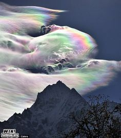 Rainbow Clouds- makes me wish I had talent in photography!