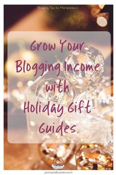 Holiday Gift Guides provide bloggers with the perfect opportunity to grow their income.  Solve your readers gift buying angst and share the products you love with them!
