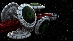 Spaceship Art, Spaceship Design, Fantasy Tv Shows, Sci Fi Fantasy, Silent Running, Lego Ship, Sci Fi Models, Future Soldier, Music Tv