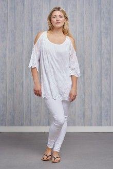 Belle Love Italy Silk Mix Top £39.00 Tunic Tops, Italy, Silk, Women, Fashion, Moda, Italia, Fashion Styles, Fashion Illustrations