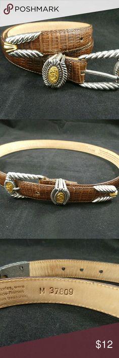 "Brighton Museum Leather Belt Very classy Brighton Belt Size M 34"" No. 37803 Brighton Accessories Belts"