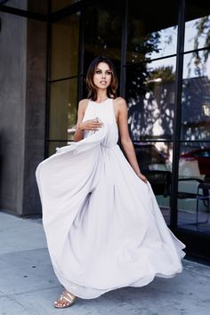 """VivaLuxury - Fashion Blog by Annabelle Fleur: MIST - 3.1 PHILLIP LIM gown with gathered waist in """"Mist"""" 