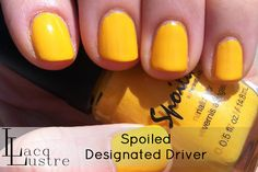 LacqLustre: Spoiled by Wet n Wild Designated Driver