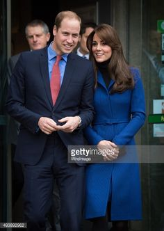 Catherine, Duchess of Cambridge and Prince William, Duke of Cambridge visit Dundee Rep. Theatre on October 23, 2015 in Dundee, Scotland.