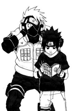 Kakashi dont let the child read the book