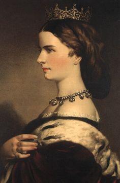 1861 Empress Elisabeth by Eduard Kaiser