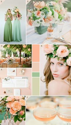 Down The Garden Path A Forest Green And Peach Wedding