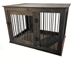 Extra Large Custom Handcrafted Dog Crate by InTheDogHouseCrates