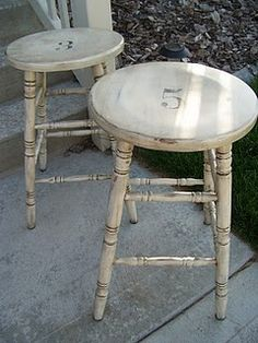 bar stools. i could do these myself