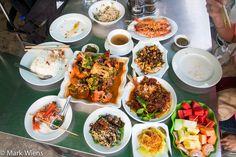 A foodie feast on the streets in Yangon, Myanmar