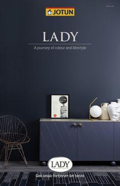 Jotun LADY - Det nye vakre fargekartet 2015 by Jotun Dekorativ AS - issuu Blue Wall Colors, Wall Paint Colors, St Pauls Blue, Jotun Paint, Jotun Lady, Home Wall Painting, Deco Blue, Wonderwall, Blue Walls