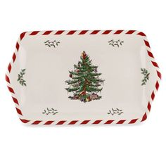 product image for Spode® Christmas Tree 12-Inch Dessert Tray