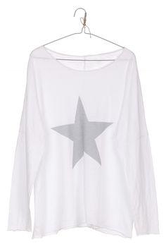 camiseta STAR blanca