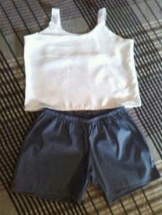 Conjunto infantil camiseta e short tam 6 anos