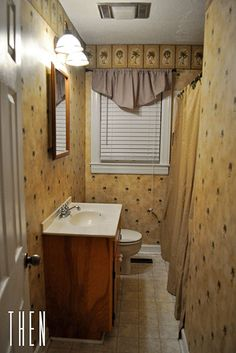 Cheap Bathroom Remodel Diy before & after diy bathroom renovation under $1,000 | beautiful