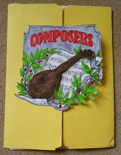 MUSIC lapbooks on COMPOSERS (ALL CYCLES) George F. Handel: A Composer Study