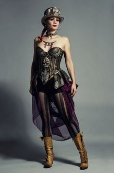 About the Steam Punk fashion: People that adopt Steampunk fashion are not…
