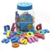 Large image of Bathtime Buddies Wet 'n' Stick Alphabet Set - opens in a new window Kids Bath Toys, Bath Toys For Toddlers, Baby Bath Toys, Kids Toys, Mermaid Bath Toys, Cleaning Bath Toys, Stick O, Learn To Spell, Foam Letters