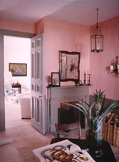sag harbor s.gambrel. As a rule of thumb, rooms done all in shades of pink are a really, really good idea.