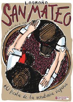 Cartel Logroño San Mateo 2016