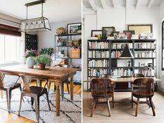 Muitousadas em escritóriosde antigamenteou ambientes industriais, as estantes de ferro têm ganhado espaço na decoração de casas e apartamentos descolado