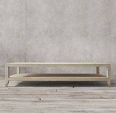 "Graydon Shagreen Coffee Table 55"" x 33"" x 15"" bone or fog with brass accents.  order samples if you like."