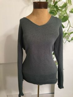 7d91f0bb9d allison brittney long sleeve sweater size M  fashion  clothing  shoes   accessories