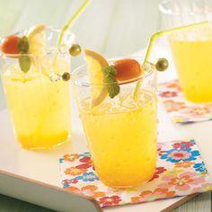 Sunny Orange Lemonade Recipe  http://www.stockpilingmoms.com/2012/05/sunny-orange-lemonade-recipe/