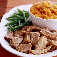 Italian Pork with Mashed Sweet Potatoes - For That Meat & Potatoes Insistent Guy In Your Life!