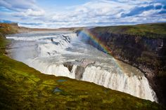Gullfoss Waterfall, Iceland puzzle in Waterfalls jigsaw puzzles on TheJigsawPuzzles.com. Play full screen, enjoy Puzzle of the Day and thousands more.