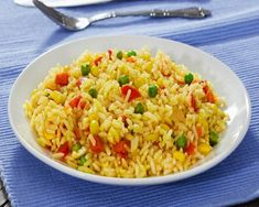arroz a la jardinera - fácil