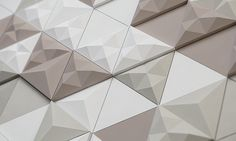 British surfacing company KAZA Concrete has partnered with brand and product design firm Next Ship to create a new triangular modular concrete tile.