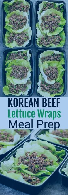 Korean Beef Lettuce Wraps Meal Prep #diet #korean #koreandiet #mealprep #diet #diet #korean #koreandiet #mealprep Omad Diet, Beef Lettuce Wraps, Korean Diet, One Meal A Day, Meal Prep, Benefit, Healthy Eating, Meals, Health