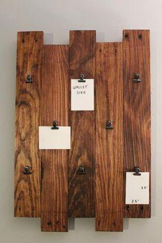 Pallet Picture Frames, Pallet Pictures, Rustic Pictures, Collage Picture Frames, Picture On Wood, Picture Ideas, Pallet Wall Decor, Pallet Art, Diy Pallet Projects