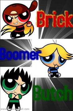 "The Rowdyruff Boys from ""The Powerpuff Girls"". Especially Brick, must be the red hat. Best Cartoons Ever, Cool Cartoons, Yandere Anime, Right In The Childhood, Ppg And Rrb, Boy Tattoos, Boy Art, Disney Drawings, Powerpuff Girls"