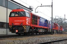 Switzerland - Freight train SBB Cargo Am 840 002 / Chiasso depot — Trainspo