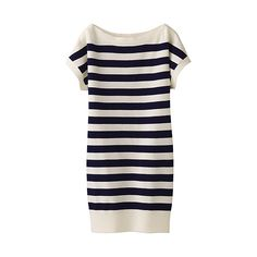 versatile summer knit striped tunic. $39.90