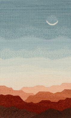 Tapestry Artist Linda Giesen: Moonlight                                                                                                                                                     More