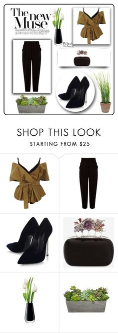 """""""classic"""" by bryannaurton on Polyvore featuring Acler, Leur Logette, Casadei, Alexander McQueen, LSA International, Esschert Design, classic and black Esschert Design, Alexander Mcqueen, Shoe Bag, Classic, Polyvore, Stuff To Buy, Shopping, Collection, Black"""