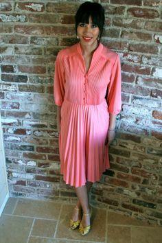 vintage pleated dresses | visit beta threadflip com