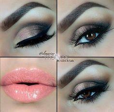 Maquillaje <3 - #eyes #eyemakeup #makeup #sultryeyes #bronzeshadow - bellashoot.com