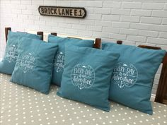 #embroidered#boat #cushions.