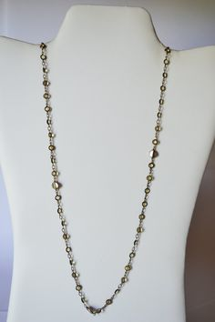 Link Necklace Chain Vintage jewelry Colorful Unique #NKB3 1 10 by eventsmatters on Etsy