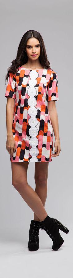 Fashion Style – 1964 Mod Dresses, Go Go Boots, Quant, Beatles & Retro Fashion Modern 60s Fashion, 1960s Fashion, Look Fashion, New Fashion, High Fashion, Vintage Fashion, Fashion Outfits, Womens Fashion, Fashion Design