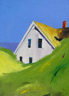 Janis H. Sanders ''Near a Bay'' he does so many variations on this theme,,,yet all of them are joyful for me,